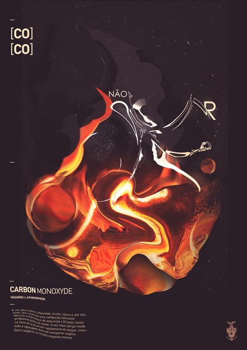 Carbon Monoxide #royal studio http #wwwbehancenetgallerycarbon