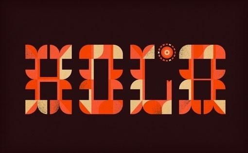 Design Work Life » cataloging inspiration daily #type #illustration