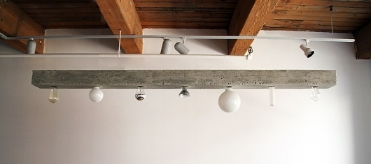 concrete chandelier [my light is heavier than yours] by seth ellsworth #lamp #concrete