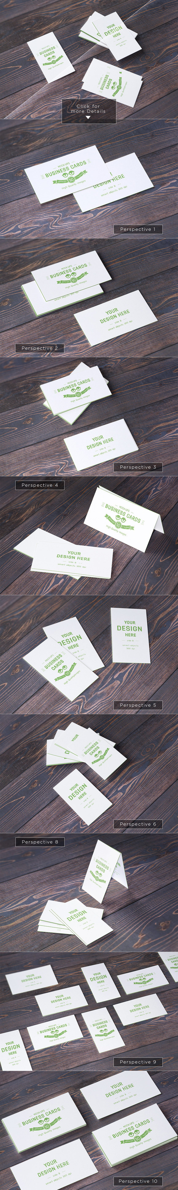 https://creativemarket.com/itembridge/235325-10-Realistic-Business-Card-Mock-ups You don't need any skill with Photoshop, just place your #dof #shadows #mock #business #photo #design #presentation #paper #up #realistic #template #cards