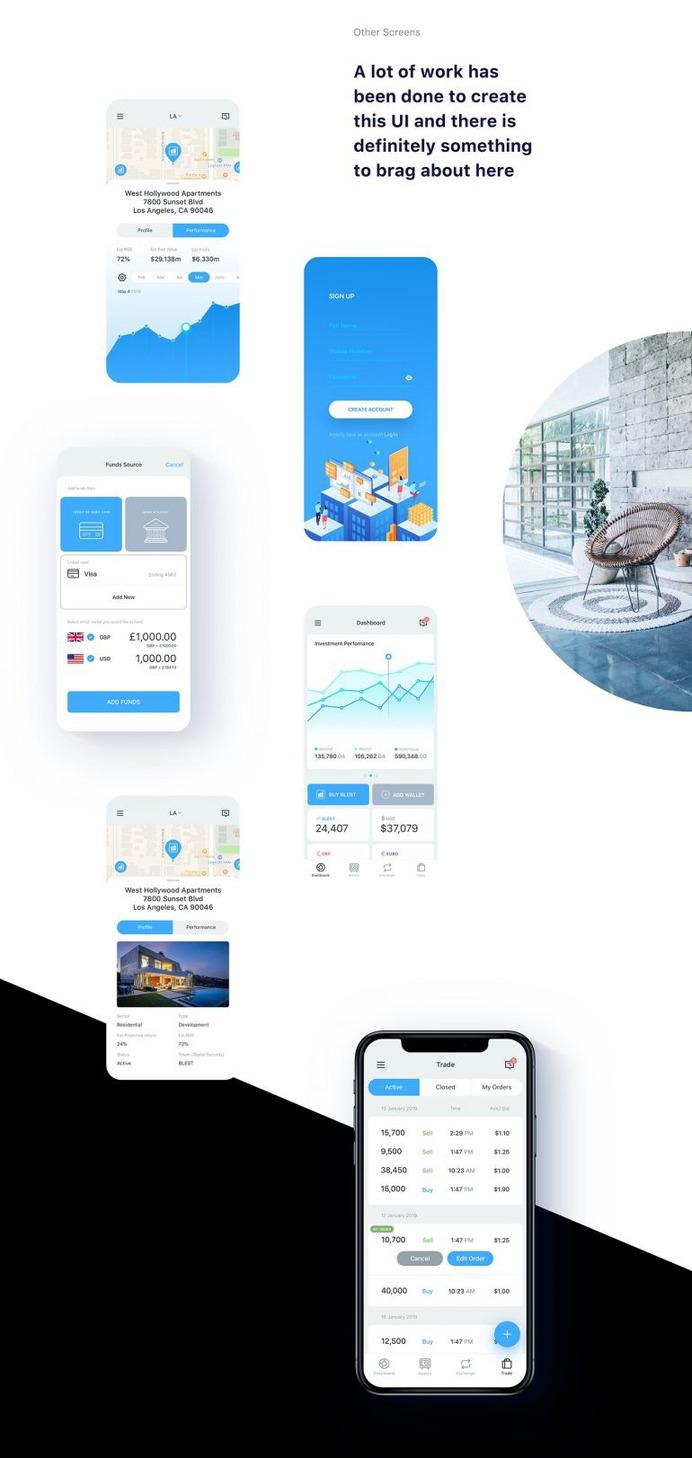 Block Estates – iPhone App for Renting