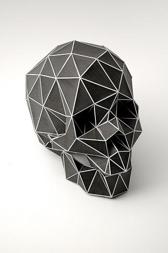 Planetary Folklore #skull #paper