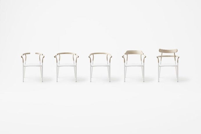 The Twig 4 Chair lets you change the back rest to your preference.