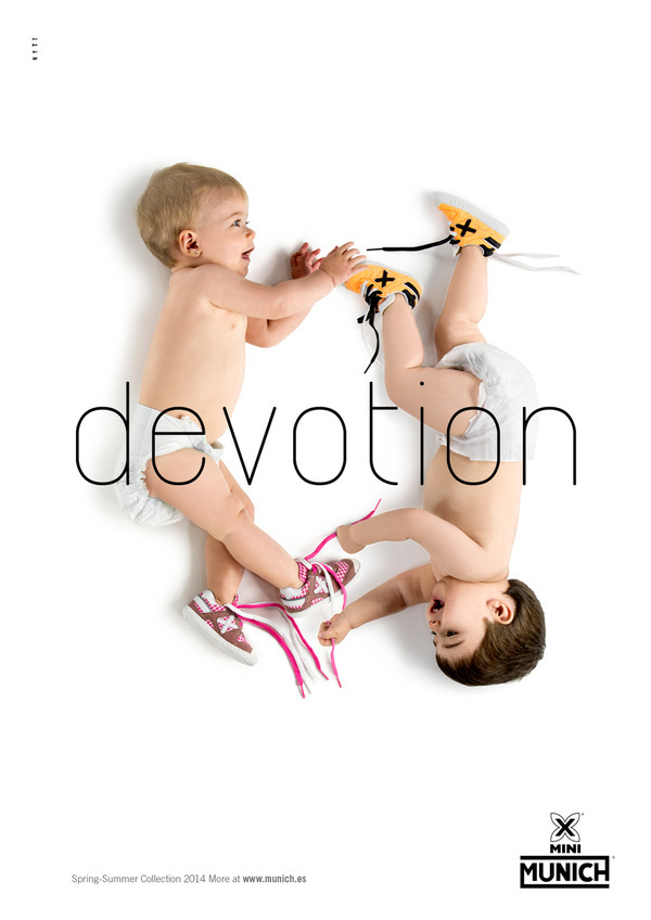MUNICH Devotion (Summer 2014. Kids) #nytt #shoes #devotion #photography #2014 #summer #ad #munich