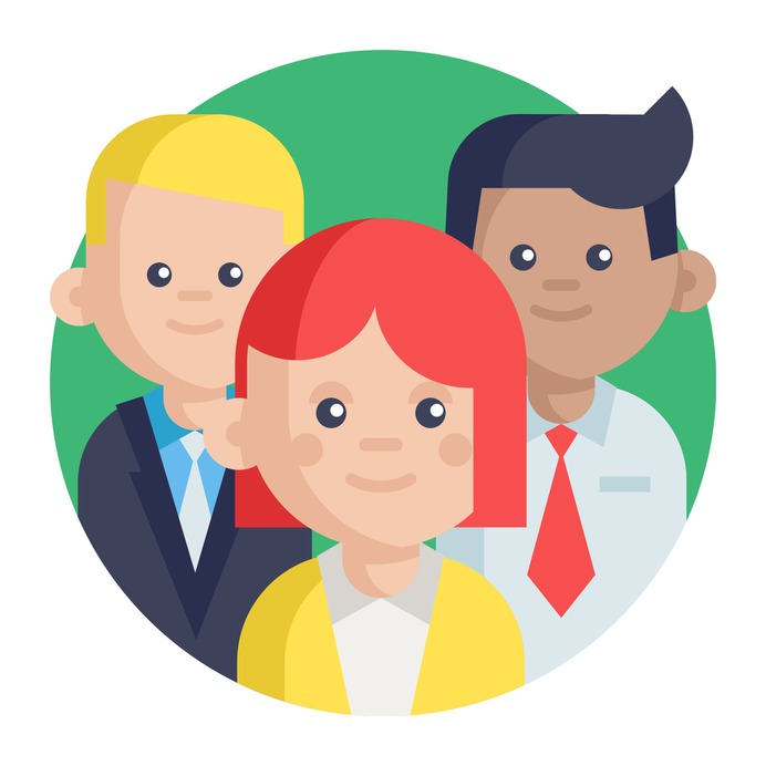 See more icon inspiration related to team, group, teamwork, leader, boss, leadership, women, networking, business and people on Flaticon.