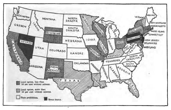 The Clarence Darrow Collection #beer #vintage #map #prohibition