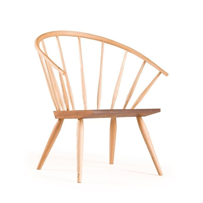 360 Burnham Windsor Chair by Matthew Hilton for De La Espada. #matthewhilton #windsorchair #delaespada #minimal #armchair