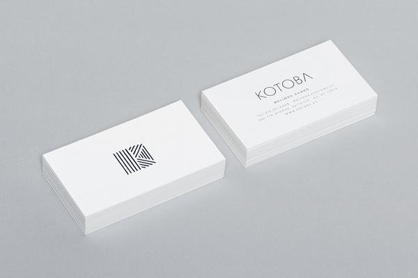 Kotoba #hightidecreative #businesscard #hightide #stationery