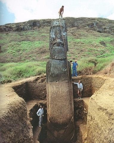 FFFFOUND! #sculpture #moai #art