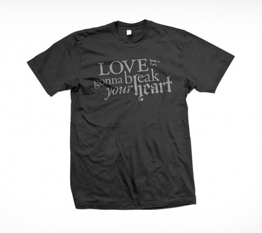 Daniel Eek - Art Director & Graphic Designer #clothing #typography #tshirt #type #treatments