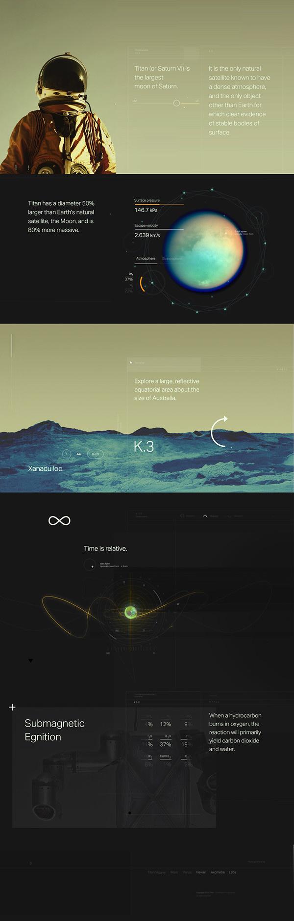 titan-loop-campaign #space #website #minimal #web #dark #science