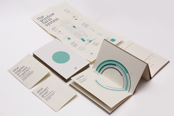 Window Farms: Information Design Book #information