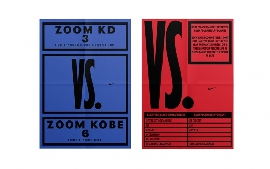 Hort: Nike VS. / Collate #posters #typography