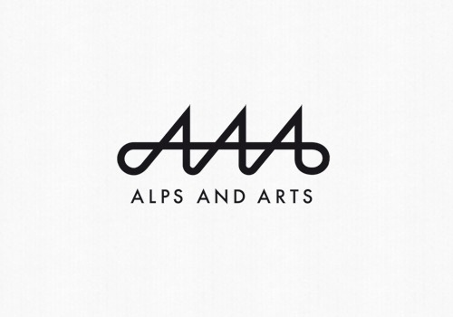 Alps and Arts : Remo Caminada – graphic design #logotype #serif #sans #black #identity #type