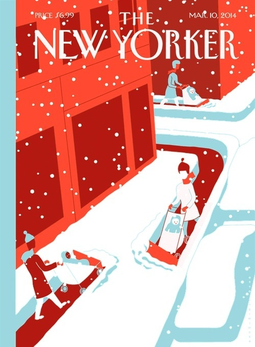 this isn't happiness™ photo caption contains external link #cover #illustration #snow #magazine
