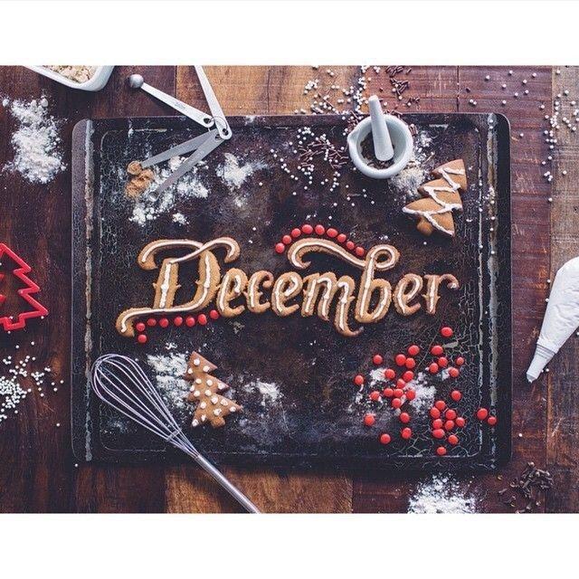 December byCalligritype #december #typography