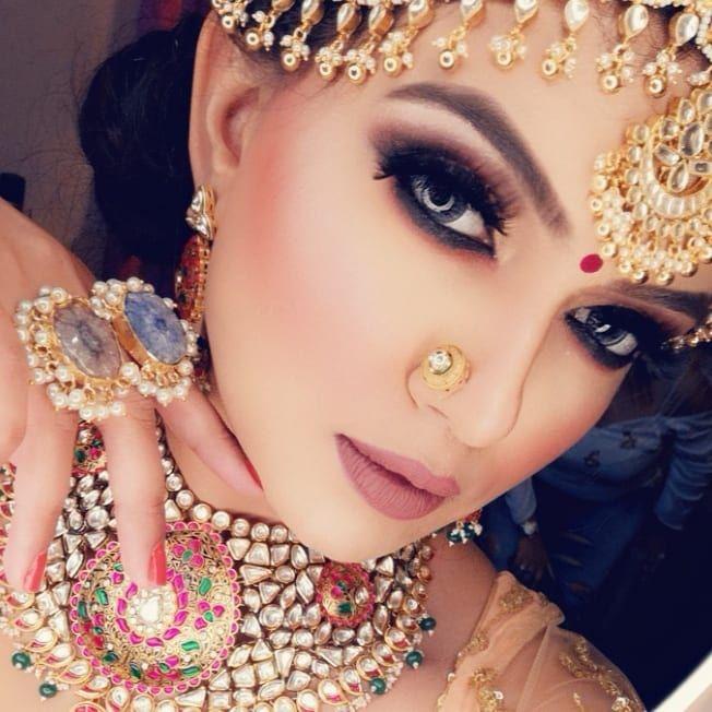bridal makeup trends 2019