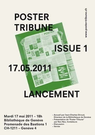 manystuff.org — Graphic Design daily selection #paris #tribune #poster #geneve