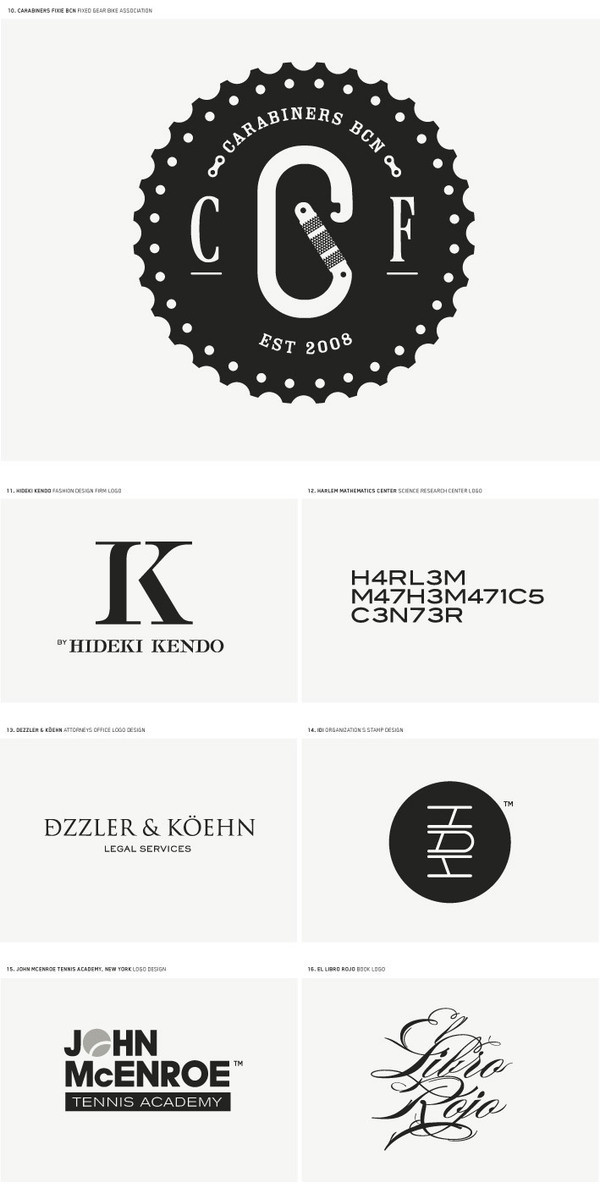 LOGO DESIGN II on Behance #logo
