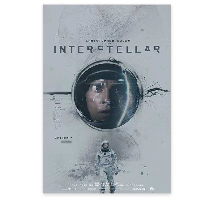 Interstellar Key art #key art