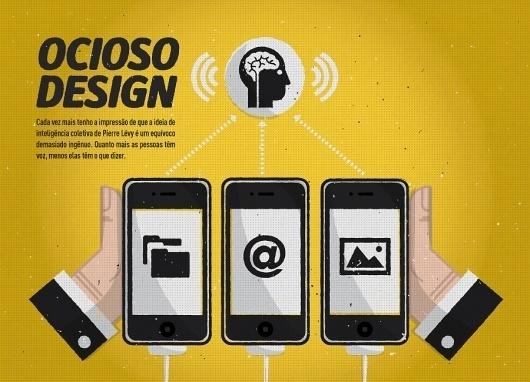 All sizes | ocioso design | Flickr - Photo Sharing! #illustration #phone #info