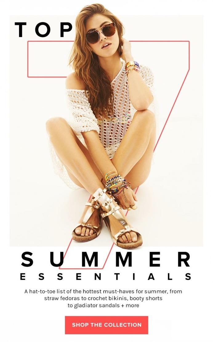 REVOLVE: Top 7 Summer Essentials