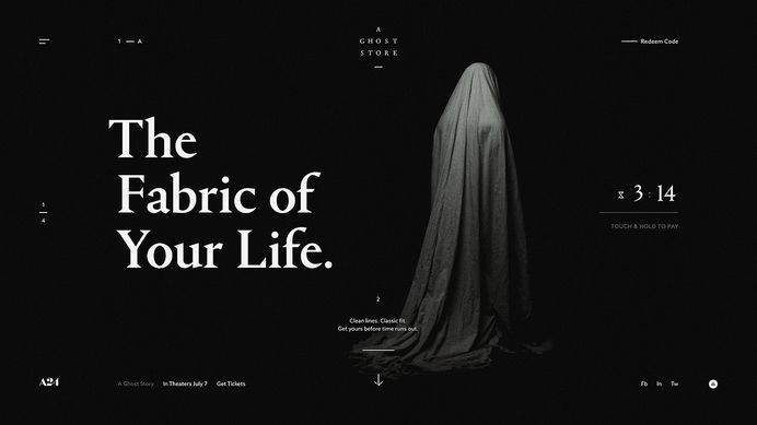 A Ghost Store on Behance