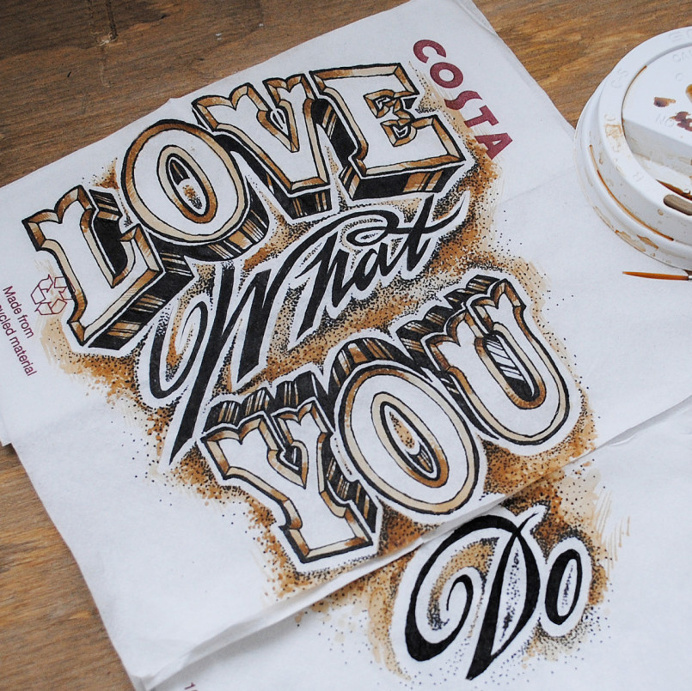 Fantastic Lettering Font Design by Rob Draper #letteringdesign #fontLettering