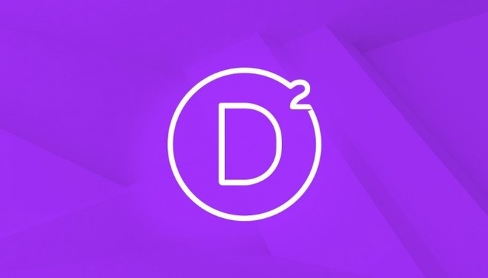 Divi 2.0 Logo design #flat #logo #design