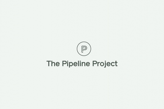 Because Studio — Design & Art Direction/The Pipeline Project #logo #identity