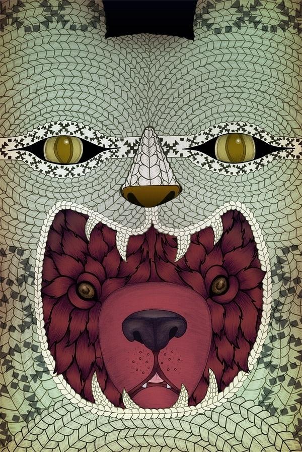 Jessica Fortner Illustration – Toronto Canada – Freelance Illustrator » Polar Bear #illustration