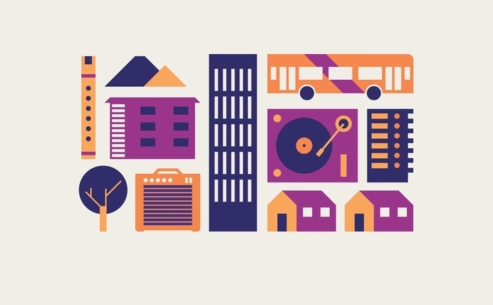 Proceso #icon #illustration #geometric