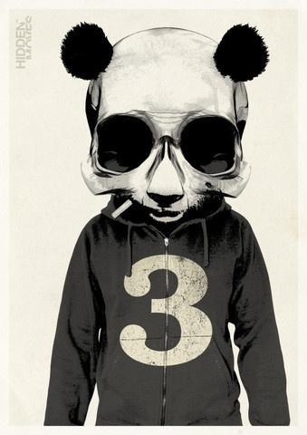 Panda No.3 #owens #rhys