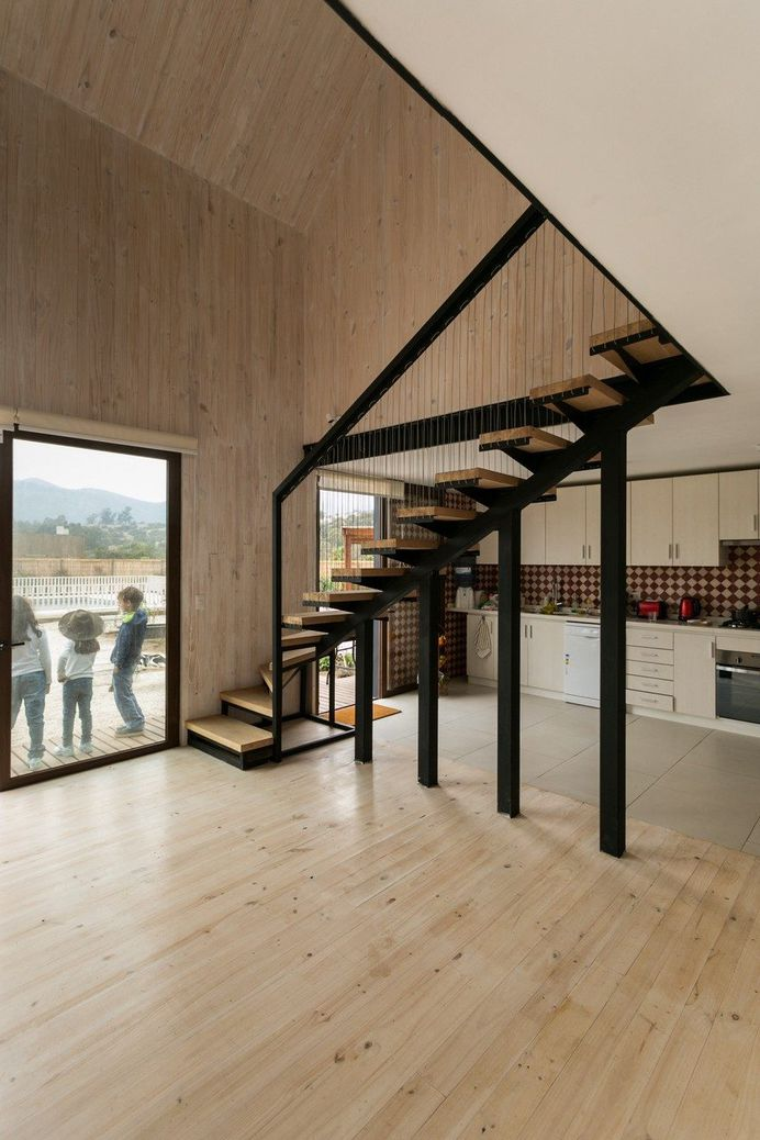 Shotgun House in Chile by Alejandro Soffia Arquitecto 3