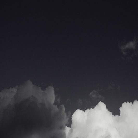 untitled on the Behance Network #clouds #& #white #black