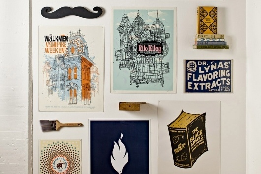 Parliament / A Creative Company / World Headquarters #interior #design #poster #mustache
