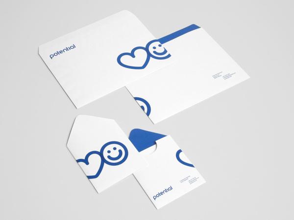 Potential by Phong Phan #brand #logo #print #stationary