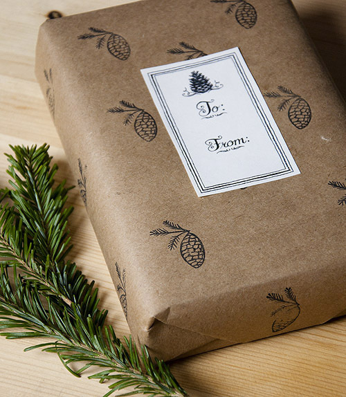 tofromtag #print #design #graphic #label #gift #paper