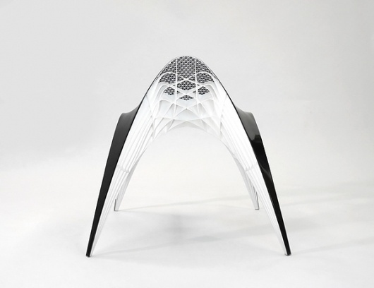 Gaudi Chair & Stool on the Behance Network #chair #furniture #sculpture #gaudi