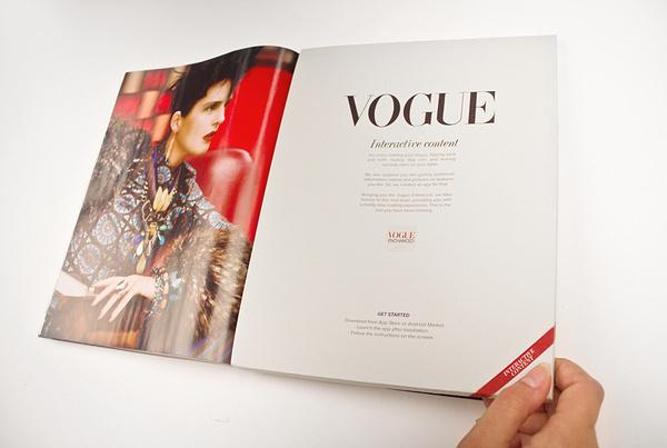 Vogue Enhanced on the Behance Network #mag #print #design #corporate #behance