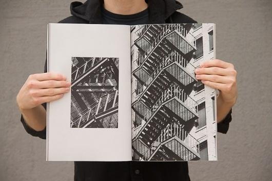 Portfolio #escape #book #publication #fire #stairs