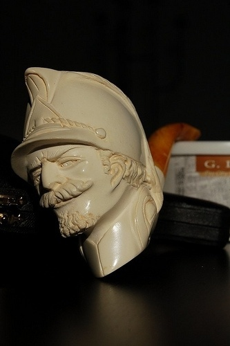 Carved Meerschaum #craft #carved #pipe