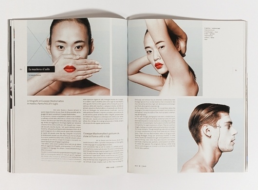 MUST / magazine on the Behance Network #layout #editorial #magazine