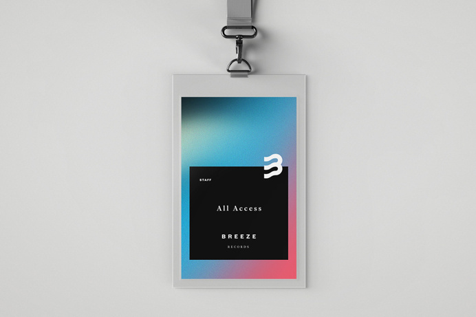Breeze Records #credentials #logo #branding #collateral