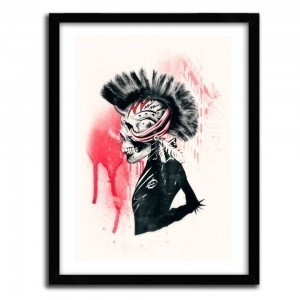 PUNK by ALI GULEC #print
