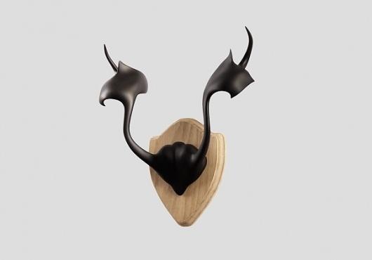 Antlers | zissou.com #sculpture #antlers