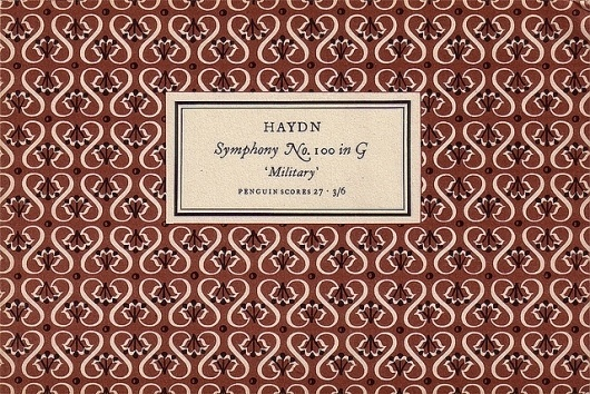 Penguin Scores no. 27: 1954 | Flickr - Photo Sharing! #design #graphic #book #cover #tschichold #jan #music #patterns