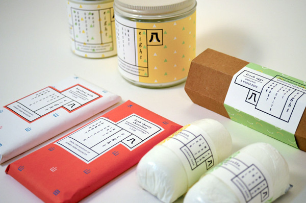 8 Eight Rooftop Gardens Packaging by Esther Li