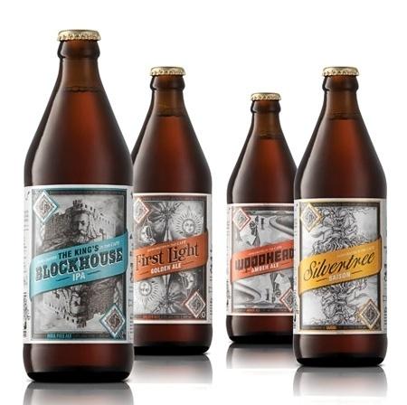 Devil's Peak Brewing Company #packaging #beer #label