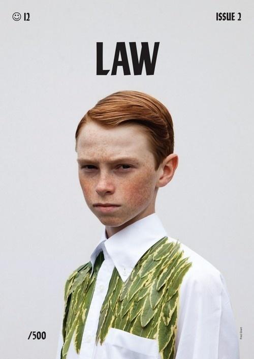 Law (Brighton UK) #boy #cover #portrait #ginger #law #magazine